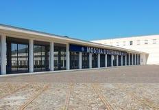 Naples - ingång till den utländska utställningen Royaltyfri Bild
