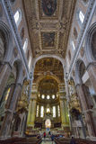Naples, ITALIE, le 1er juin : Di San Gennaro de Duomo de cathédrale de Naples en Italie le 1er juin 2016 Photos libres de droits