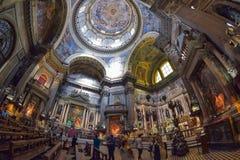 Naples, ITALIE, le 1er juin : Di San Gennaro de Duomo de cathédrale de Naples en Italie le 1er juin 2016 Photo stock