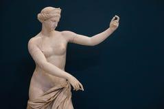 Naples Italien, arkeologisk museumstaty Arkivfoto