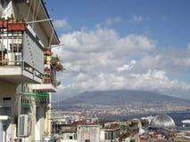 Naples Italien, Europa Arkivbild