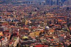 Naples, Italy. Aerial view of Naples, Italy Royalty Free Stock Photos