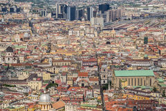 Naples town, Italy Stock Image