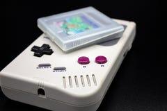 A 90s portable video game. stock photos