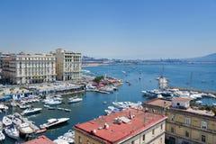 Naples, Italy, Borgo Marinari Royalty Free Stock Photography