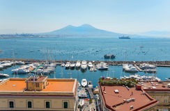 Naples, Italy, Borgo marinari Royalty Free Stock Images