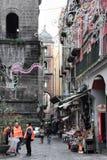Volunteers clean up Naples Royalty Free Stock Photo