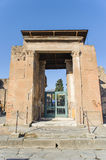 NAPLES, ITALY - JANUARY 19, 2010: Entrance of ruined villa in Po Stock Photography