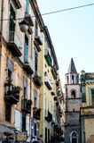 NAPLES, ITALY - January 16, 2016 : Street view of old town in Na Stock Image