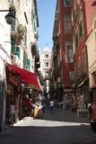 San Gregorio Armeno street royalty free stock photography