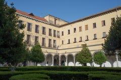 Monumental complex of Santa Maria la Nova - Naples - Italy Royalty Free Stock Photo