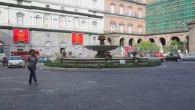 Naples Italy stock video