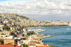 Naples, Italy. Panorama of Naples city, Italy Royalty Free Stock Photography