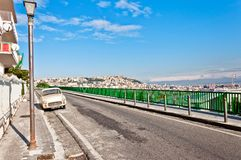 Naples - Italy. panoramic view from Posillipo Royalty Free Stock Images