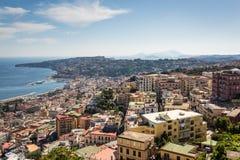Naples, Italy. View of the Posillipo peninsula Royalty Free Stock Photography