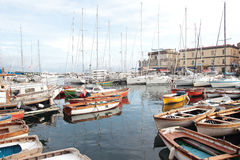 Naples Harbor Royalty Free Stock Image