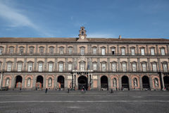Royal Palace in Naples Royalty Free Stock Image