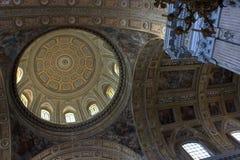 Naples - kościół Gesu Nuovo Obraz Stock