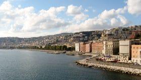Naples kust Arkivbilder