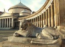 Naples kwadrat Obrazy Royalty Free