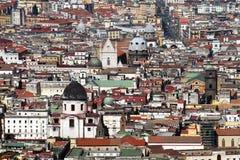 Naples landmark royaltyfri fotografi