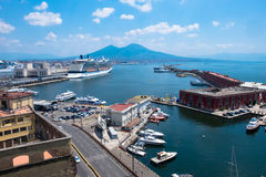 Naples,landscape, Italy Royalty Free Stock Photos