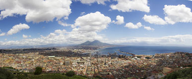Naples landscape Stock Photography