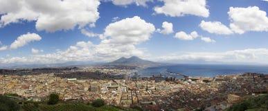 Naples landskap Arkivbild
