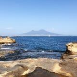 Naples Marechiaro royaltyfria bilder