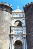 Naples, Maschio Angioino Stock Photography