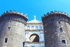 Naples, Maschio Angioino Royalty Free Stock Photos