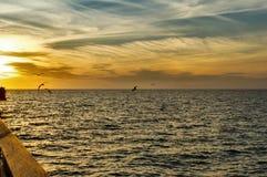 Naples molo Zdjęcie Stock