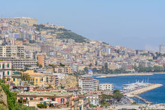 Naples (Napoli), Italy - June 10: Panorama of Naples, June 10, 2 Stock Image