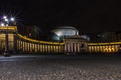 Naples natt Royaltyfria Foton