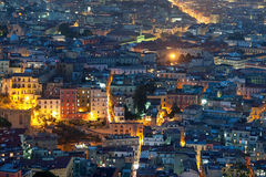 Naples at night Royalty Free Stock Image