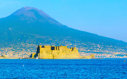 Naples Nuovo Castle, Italy Royalty Free Stock Photography