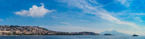 Naples Panorama V royalty free stock photography
