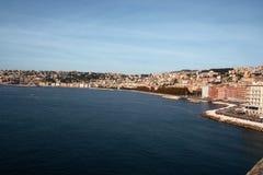 Naples pejzaż miejski Zdjęcia Stock