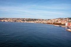 Naples pejzaż miejski Fotografia Stock
