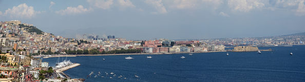 Naples. Photo of Naples in the summer Stock Photos