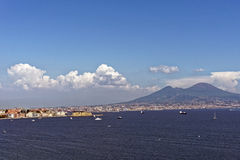 Naples. Photo of Naples in Summer Stock Image