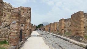 Naples, Pompeii et l'Italie image stock