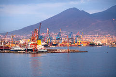 naples port Royaltyfri Bild