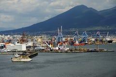 Naples Port Royalty Free Stock Photo