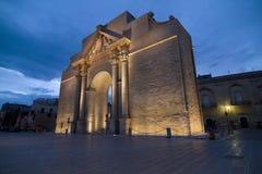 NAPLES PORT i Lecce Royaltyfri Fotografi