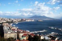 Naples postcard Stock Photography