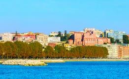 Naples quayside, Italy Royalty Free Stock Photos