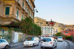 Naples road traffic, Italy Stock Images
