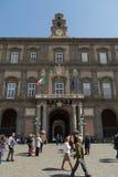 Naples Royal Palace Royalty Free Stock Photo