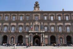 Naples Royal Palace Stock Photos